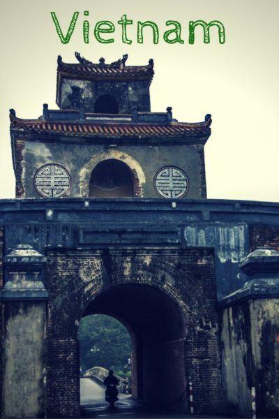 Visiting Vietnam.