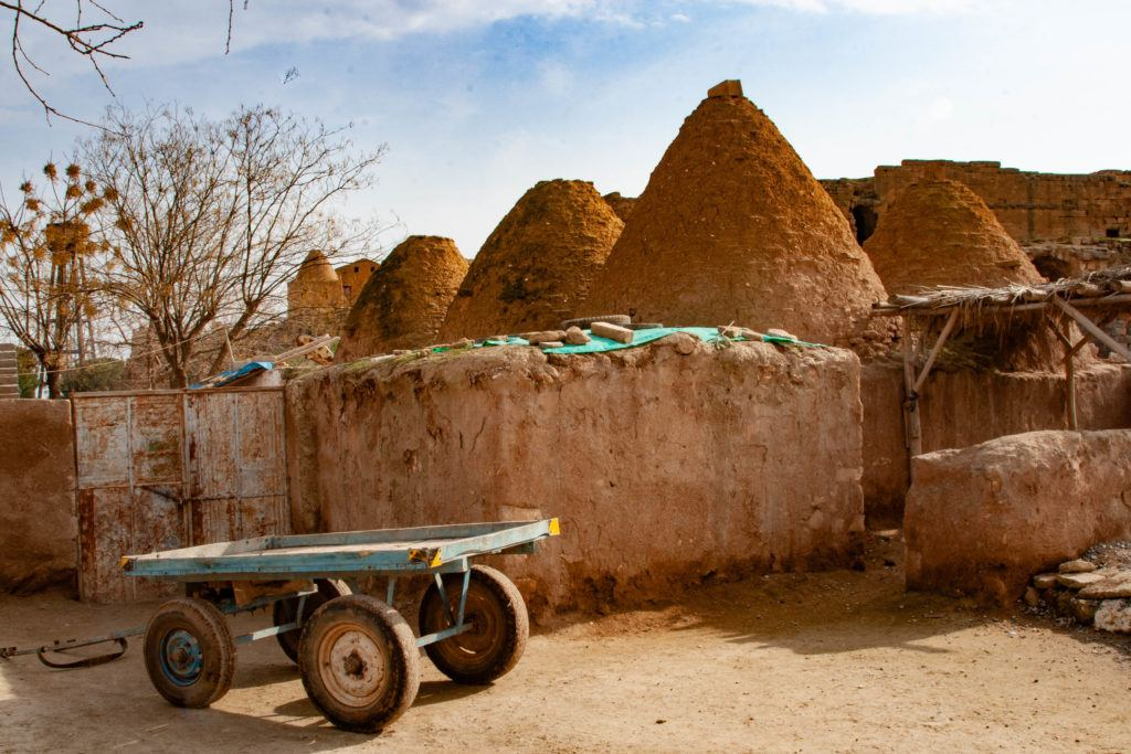 Beehive Houses with trailer.
