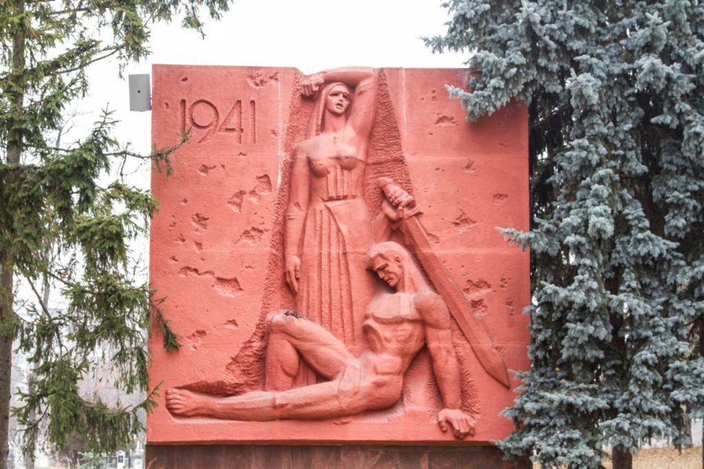 WWII War Memorial Moldova.