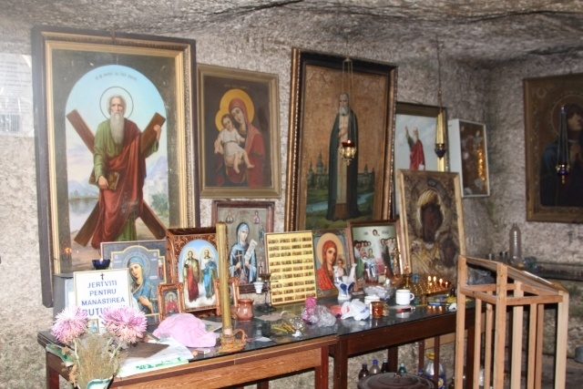 Interior of the Pestere Monastery