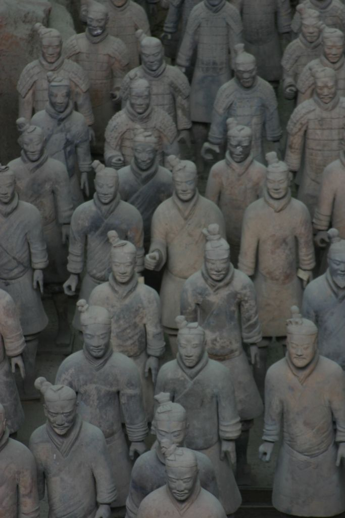 The number one place to visit in Xian is the Terracotta Warriors exhibit...a UNESCO World Heritage Site in China.