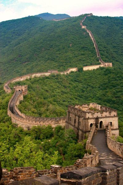 World Heritage Site Great Wall of China.