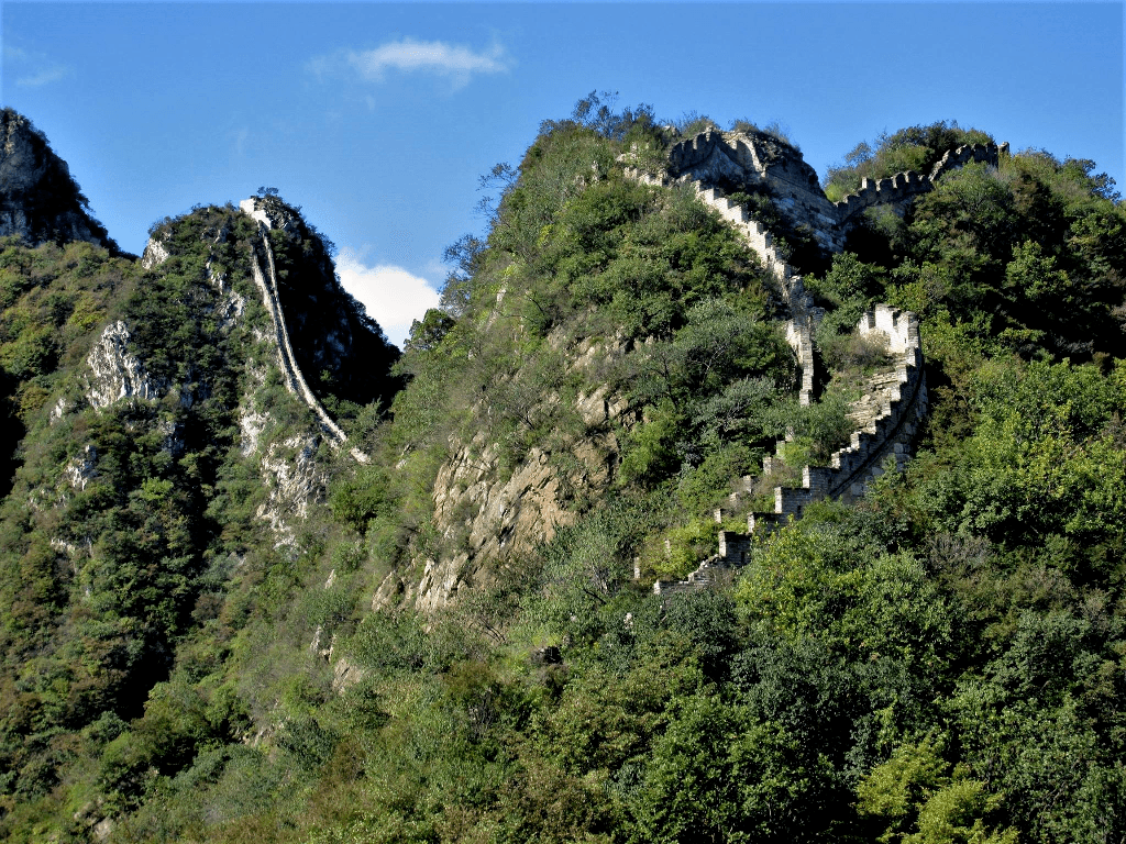 Jiankou section of the Great Wall.