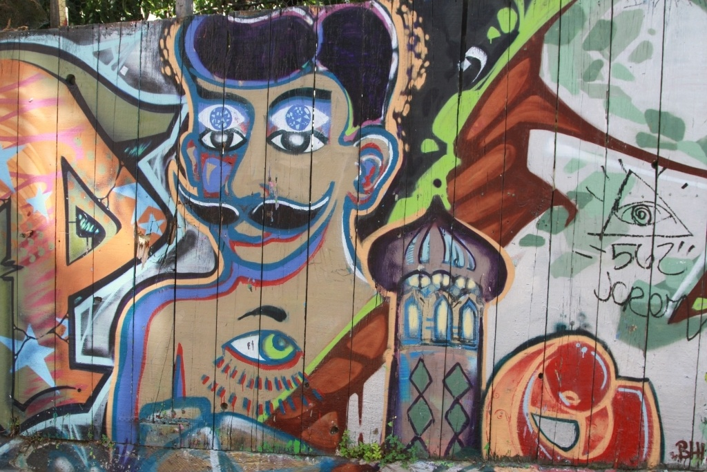 San Francisco Grafitti
