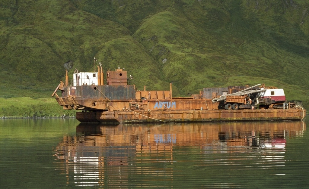 Dutch Harbor on Unalaska Island