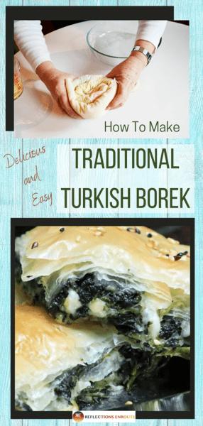 Traditional Turkish Borek Recipe - Easy!