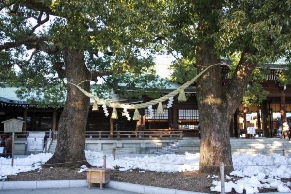 Meiji Shrine Tokyo.
