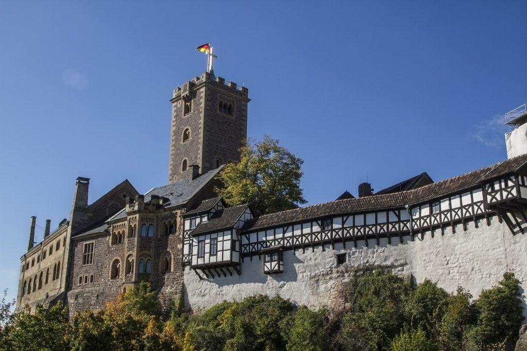 Wartburg Castle, Eisenach.