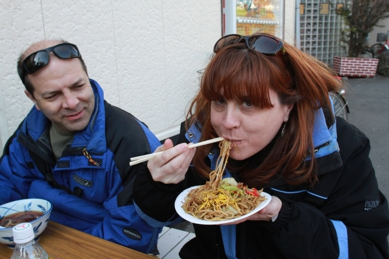 One of our favorites from our first memories of Japan, yakisoba.