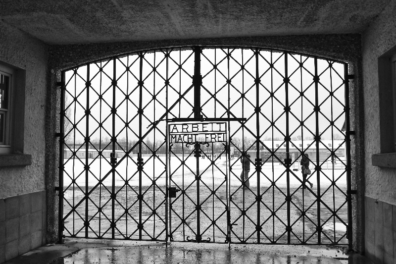 The exhibit at Dachau is an exhaustive history on World War II, the role of all concentration camps in the war.