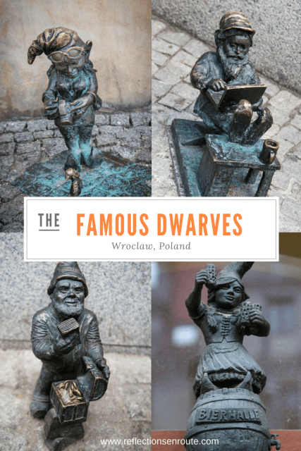 Here a dwarf, there a dwarf...everywhere are dwarfs. Just the right height for every child to find one in Wroclaw, Poland