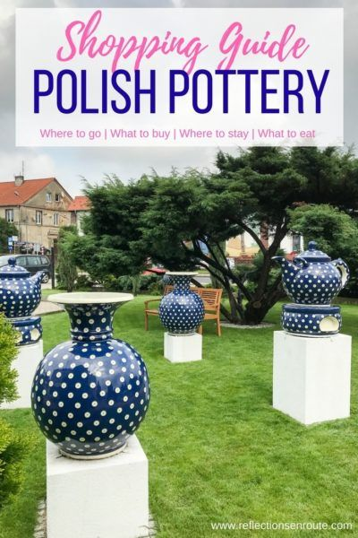 Looking for that perfect European souvenir? Polish pottery is it. Everyone loves the traditional blue and white Polish pottery patterns that adorn everything you could need in your kitchen. Click here to read our guide. Polish pottery mugs | Polish pottery dinnerware | Polish ceramics | Boleslawiec Polish pottery
