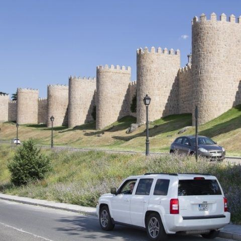 Our drive through Avila provided some gorgeous views.