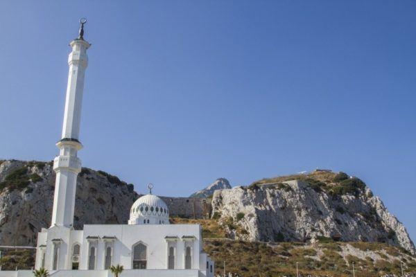 Moorish mosque at Europa Point.