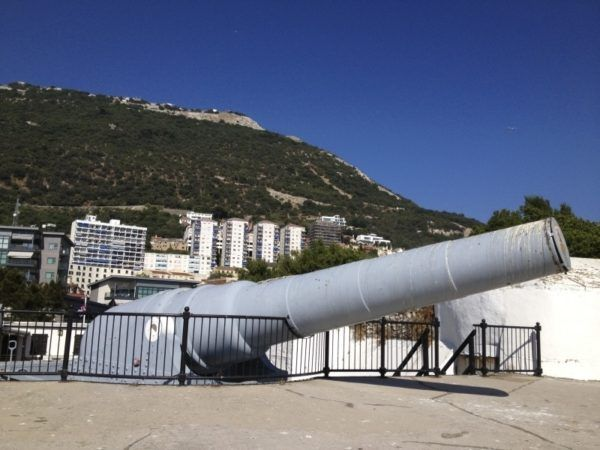 """The Big Gun"" is open for visitors in Gibraltar."