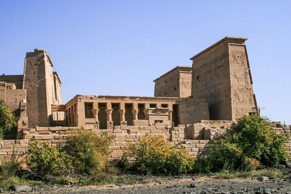 Temple of Philae exterior.