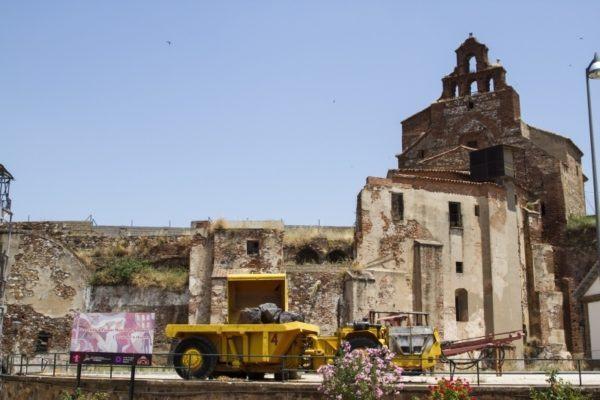 The ruins of Almaden.