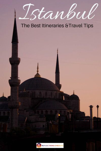 Sunset at the Blue Mosque.