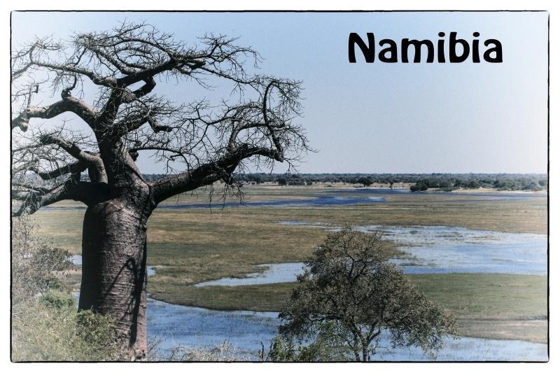 Namibia Postcard