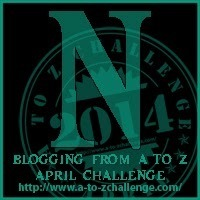 "It's ""N"" Day for the Blogging from A to Z Challenge"
