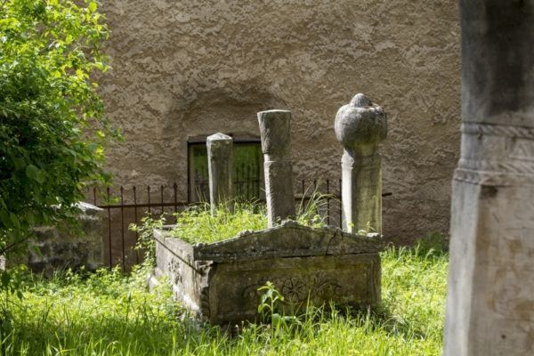 Ancient cemetery in Mostar.