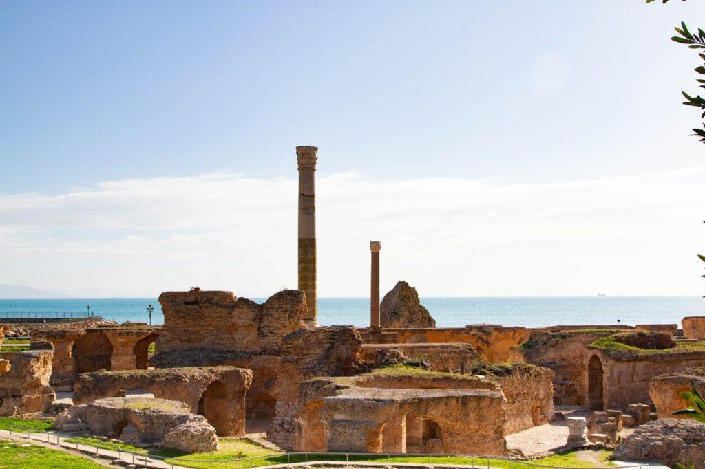 Carthage is one of the easiest Roman sites to visit since it's right near Tunis.