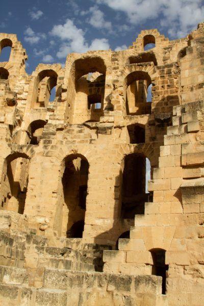 Tunisian Roman Ruin giant, El Jem.