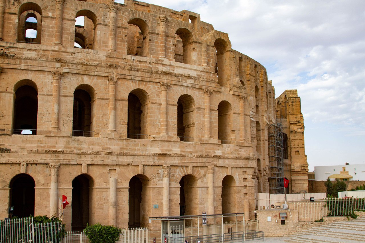 The best known Roman Ruin in Tunisia, and most visited, is El Jem.