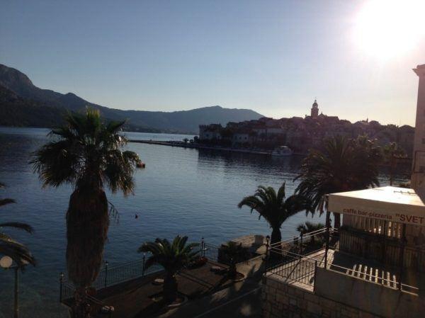 View of Korcula, Croatia