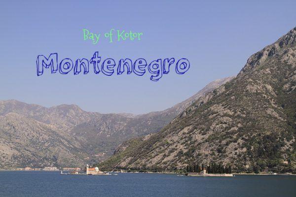 Bay of Kotor in Montenegro.