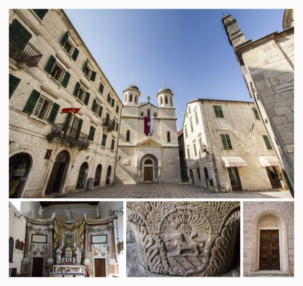 Scenes from St. Tryphon Cathedral.