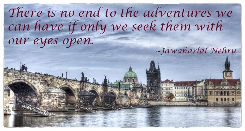 Travel Inspiration Eyes Open