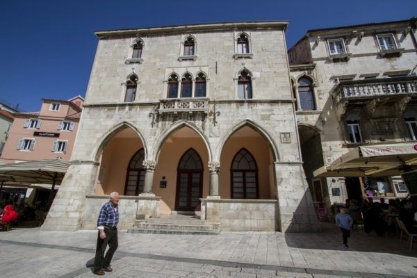 Medieval town house in Split.