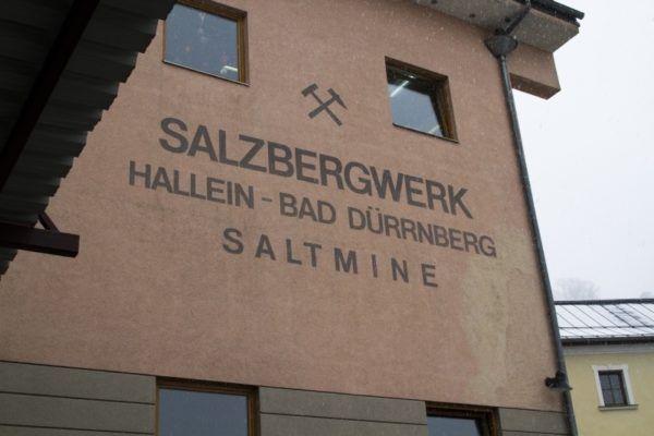 Salzbergwerk Hallein.