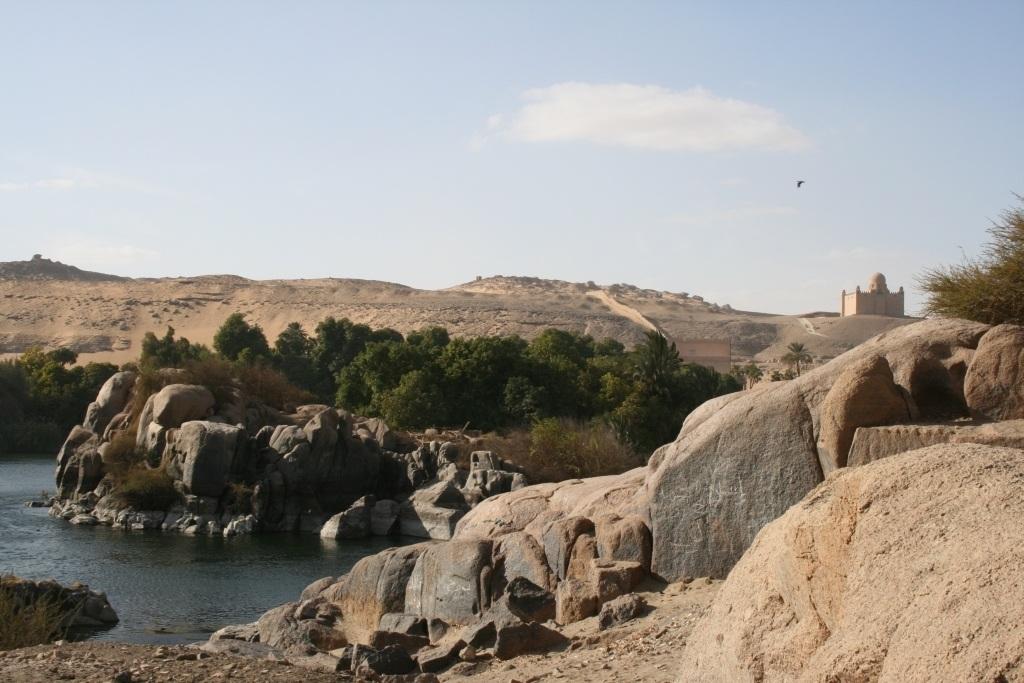 Scenic Nile River