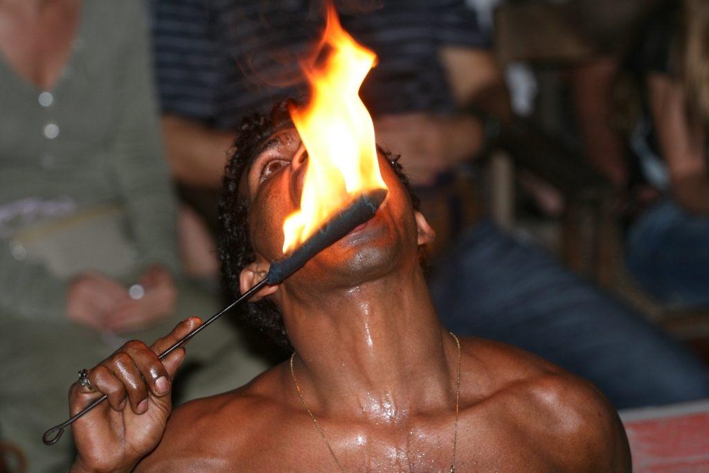 Fire-eater Kerala