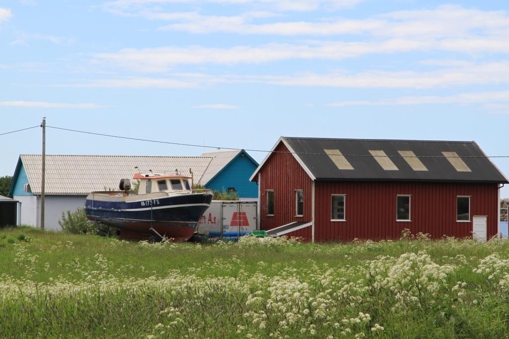 Norwegian Village Scene