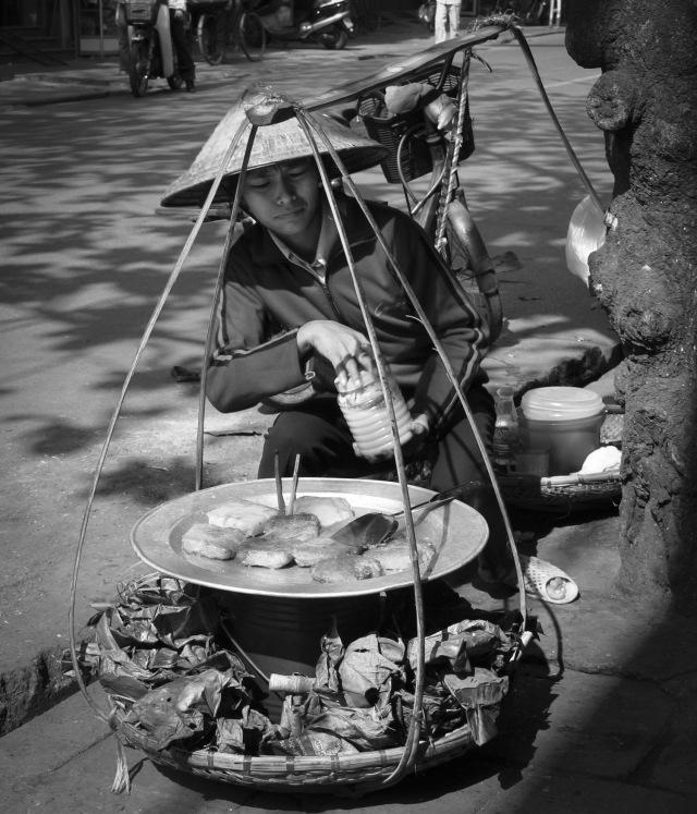 Street Vendor Hanoi