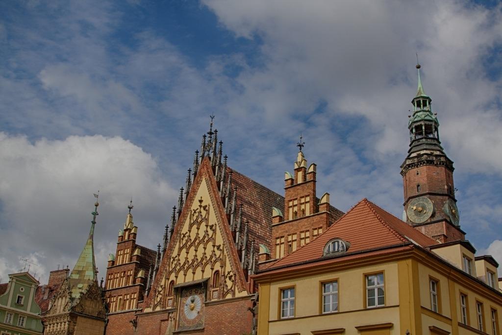 Rooftops in Wrocław