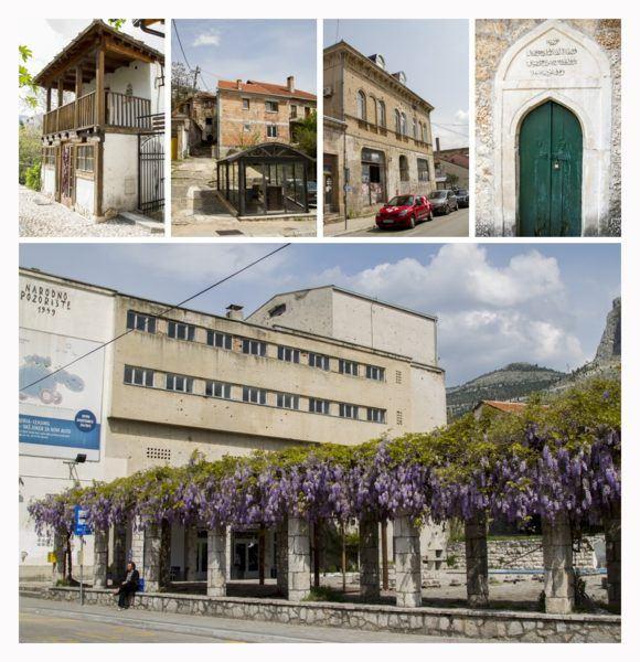 Different architecure in Bosnia Hercegovina.