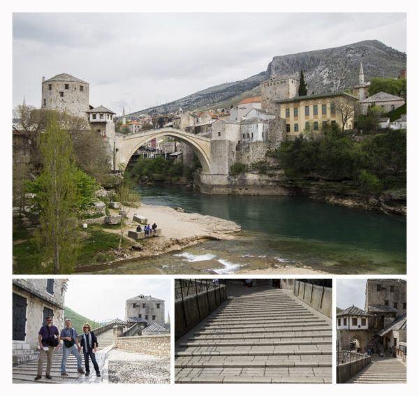 Mostar bridge.