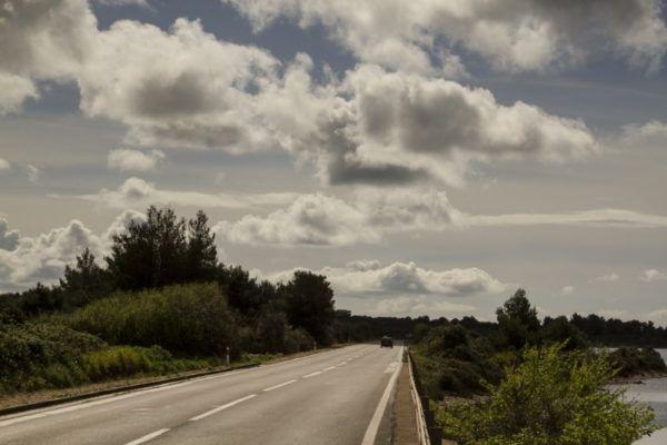 Croatia road view.