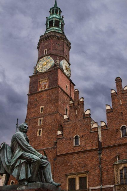 The Wroclaw Cathedral.
