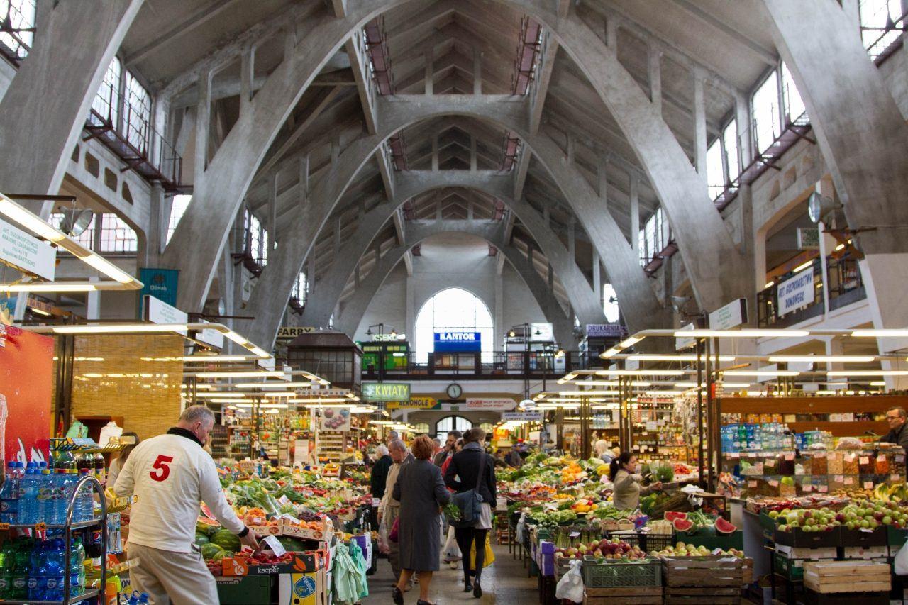 Hala Targowa Market in central Wroclaw.