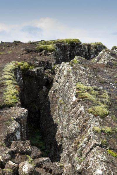 The ground literally opens up at Thingvellir National Park.