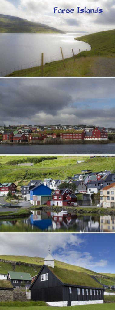 Several views from around the Faroe Islands.