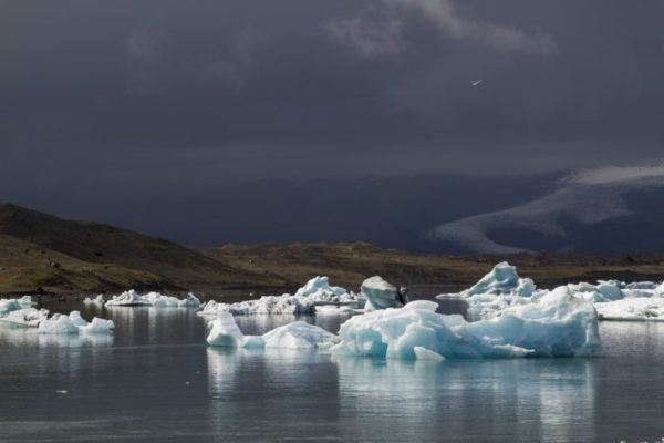 The views, like the icebergs in Jökulsárlón Glacier Lagoon, are stupendous and free in Iceland.