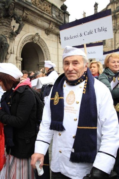 A baker in the parade.