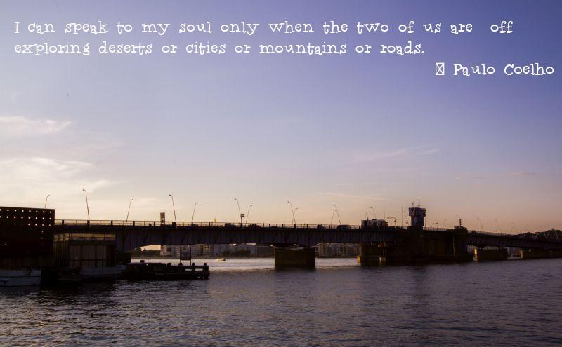 Weekend Travel Inspiration Paulo Coelho