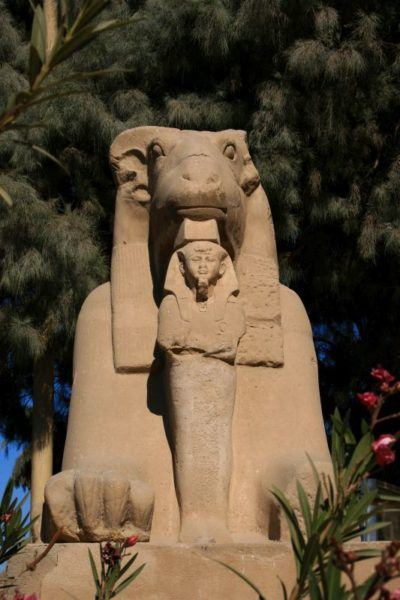 Karnak Temple Statue.